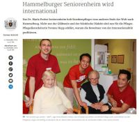 Hammelburger Seniorenheim wird international